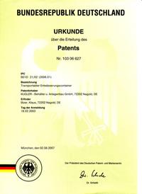 KUGLER Patent für die Abwasseraufbereitung - Experte für Fest-Flüssig-Trennung