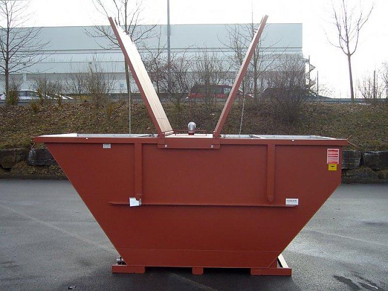 EWC-Deckelkonstruktion ist mit dem Container verschraubt