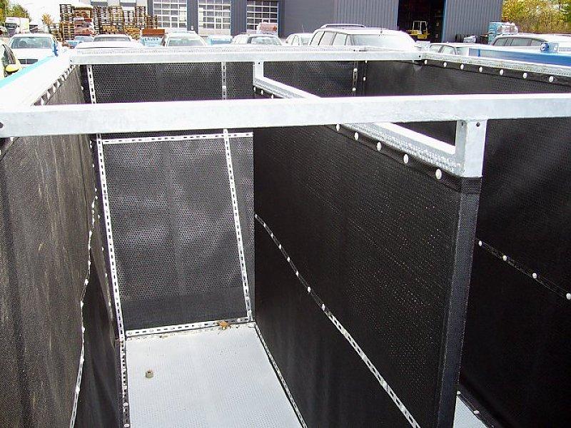 Filterkorb mit zusätzlicher mittlerer Filtertrennwand