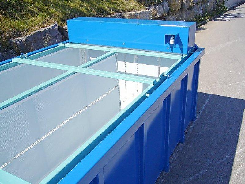 Beheizter Entwässerungscontainer für Entwässerung bei niedrigen Temperaturen