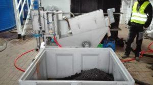 Schlammentwässerung mit Schneckenpressen minimiert Entsorgungskosten