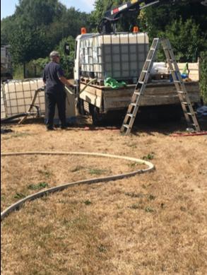 Biologische Behandlung von Teichen und Regenrückhaltebecken